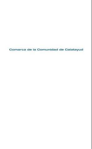 Comarca de la Comunidad de Calatayud b597ee12346